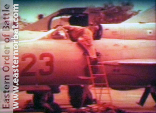 Soviet Air Force MiG-21bis Fishbed-L 115th Guard Fighter Air Regiment Kokayty before Afghan War
