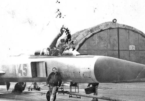 Soviet Su-15 Flagon at Marneuli, Sandar airport