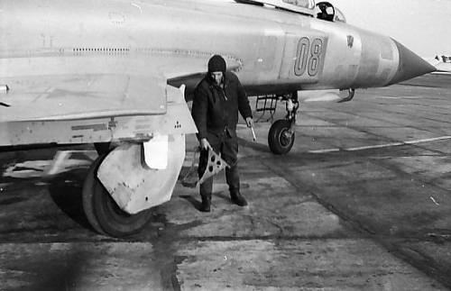 USSR Su-15 Flagon at Marneuli, Sandar airport