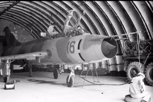 Iranian Revolution Effect Soviet Air Force Su-17 Fitter-C Su-7U Moujik Kzyl-Arvat