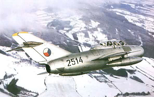 Czechoslovak Air Force MiG-15UTI