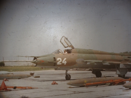 USSR 381st independent Reconnaissance Air Regiment's Su-17M3R Fitter-H in Chimkent