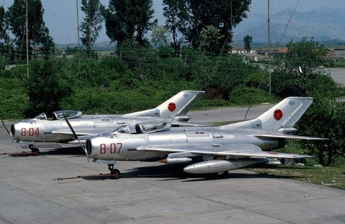 Albanian MiG-19S Farmer-C. Photo: George Kamp