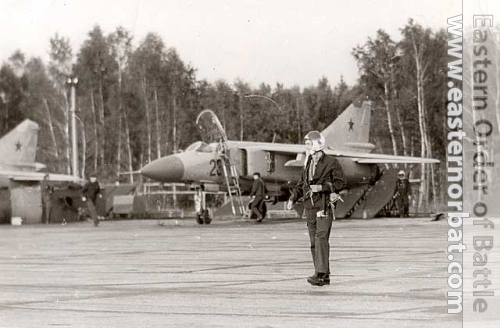 Soviet Air Force 979th Fighter Air Regiment MiG-23ML Flogger-G in 1980