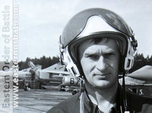 Soviet Air Force 979th Fighter Air Regiment's pilot MiG-23ML Flogger-G