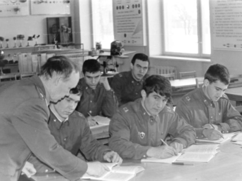 Soviet 69th independent Training Air Regiment at Ovruch in the seventies