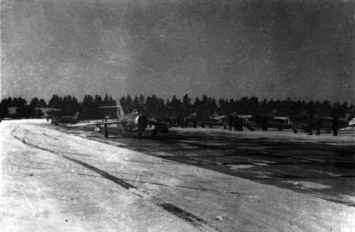 Soviet Tactical Air Force, 722th Fighter Bomber Aviation regiment, MiG-17 Fresco, Su-7BM Fitter-A, Smuravyevo
