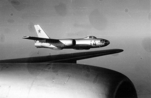 Former 114th Tactical Bomber Air regiment's IL-28 Beagle tactical bomber aircraft