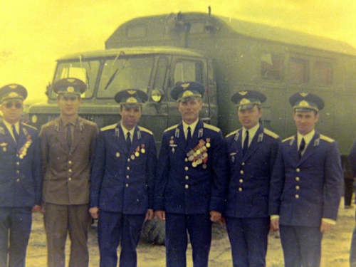 Soviet 69th independent Training Air Regiment. Photo: Vladimir Tokarev