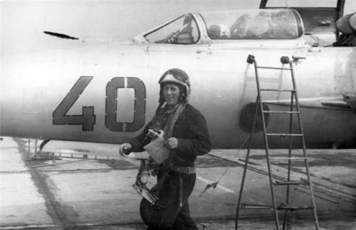 Soviet 871st Fighter Air regiment MiG-21US Mongol-B Poland Northern Group of Forces