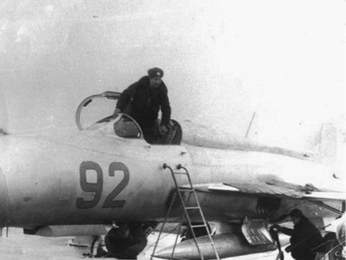 Soviet 871st Fighter Air regiment MiG-21PFM Fishbed-F Poland Northern Group of Forces