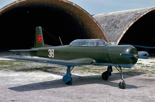 Albanian Yak-18A (Nanchang CJ-6). Photo: George Kamp