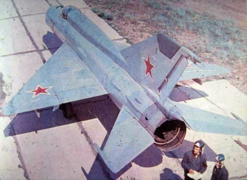 Rare MiG-21S Fishbed-J tactical fighter aircraft from the 92nd Fighter Air Regiment