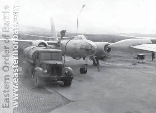 Soviet Air Force's 98th independent Guard Reconnaissance Air Regiment's IL-28R Beagle in Monchegorsk