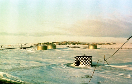 Soviet life in the artic Amderma town in the eighties.