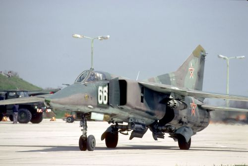 Bulgarian Air Force nuclear bomber MiG-23BN Flogger-H