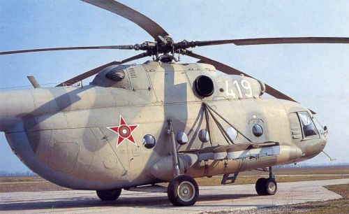 Bulgarian Mi-17 Hip-H helicopter