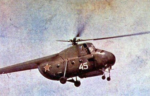 Bulgarian Mi-4 Hound transport helicopter