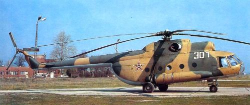 Bulgarian Mi-8T Hip-C helicopter