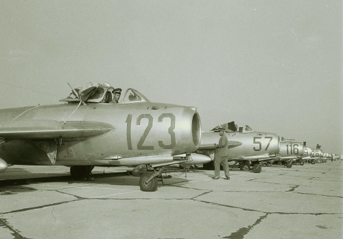 Bulgarian Air Force's 22nd Fighter Bomber Aviation Regiment MiG-17 Fresco at Bezmer. Source: pan.bg Retrospotters