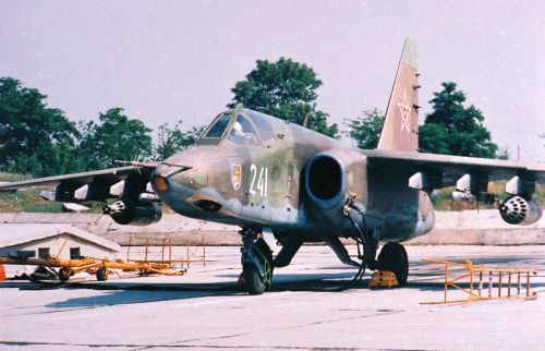 Bulgarian Su-25K Frogfoot-A