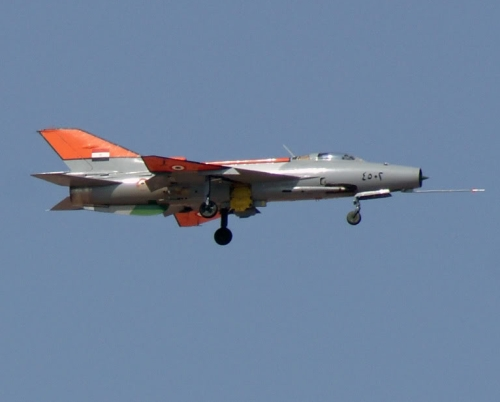 Egyptian Air Force Chengdu F-7A Fishbed