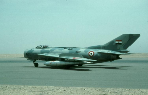 Egyptian Shenyang F-6C with air superiority camouflage