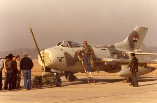 Egyptian Shenyang F-6C in 1982