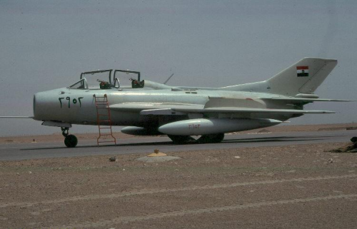 Egyptian Shenyang FT-6 trainers