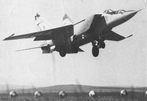 Soviet 193rd Independent Reconnaissance Air Regiment's MiG-25RU at Ukkurey