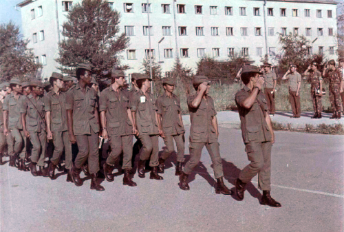 Cuban Air Force's crews in the 5th Training Center in 1988