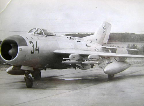 Hungarian Air Defence force's MiG-19PM Farmer-E interceptor