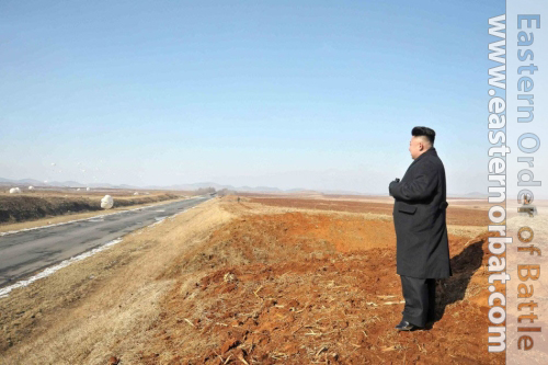 North Korea Air Force. North Korea has built dozens of reserve airstrips along highways and ordinary roads.