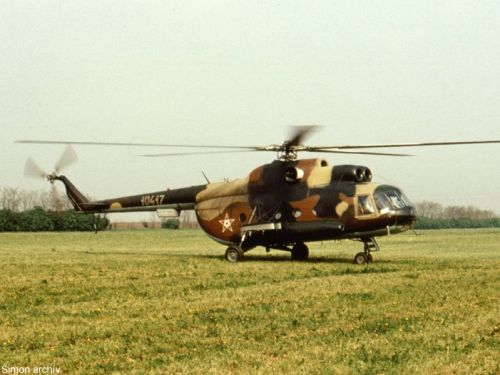 Hungarian Mi-8T Hip-C helicopter. Photo: Simon Laszlo