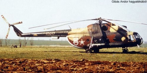 Hungarian Mi-8T Hip-C helicopter. Photo: Gibas Andor