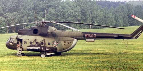 Hungarian Mi-8T Hip-C helicopter. Photo: Garai Ferenc