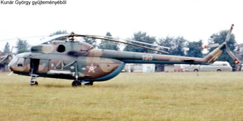 Hungarian Mi-8T Hip-C helicopter. Photo: Kunar Gyorgy