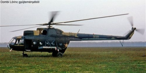 Hungarian Mi-8T Hip-C helicopter. Photo: Dombi Lorinc