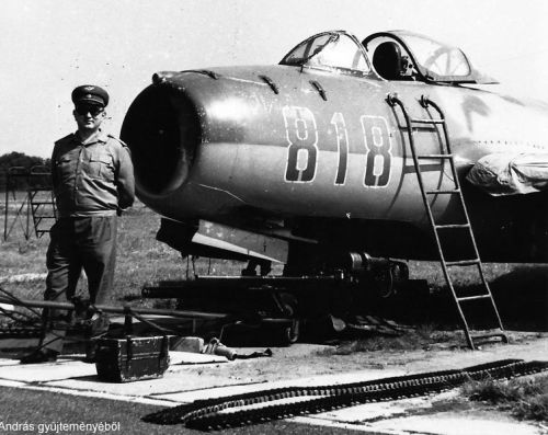 Hungarian 101st Reconnaissance Air Regiment's MiG-15bis Fagot-B. Photo: Nagy Andras