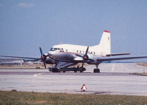 Hungarian IL-14. The government squadron received two IL-14P Crate VIP cargo aircraft in 1967. Photo: Péter Nagy