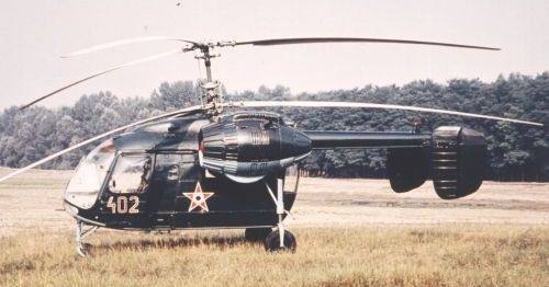 The Ka-26 Hoodlum courier helicopter used piston engine.