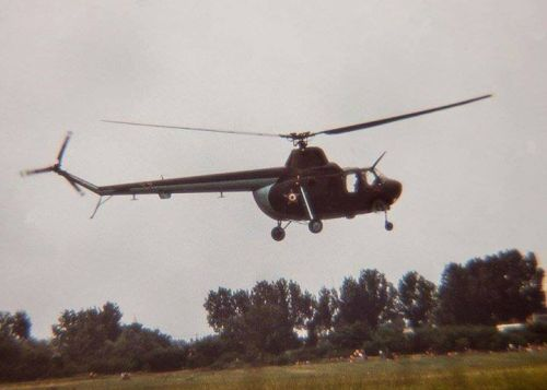 Hungarian Mi-1. The 86th Composite Air Battalion received 25 Mi-1 Hare courier helicopter between 1961 and 1964.