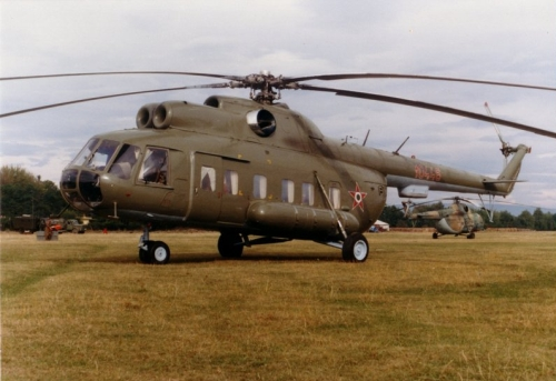 Hungarian Air Force 89th Composite Transport Air Regiment  Mi-8PS Hip VIP transport helicopter. Photo: Simon László