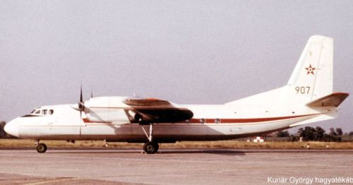 In 1968, two An-24V Coke arrived in Tököl, as VIP cargo aircraft. Photo: Kunar Gyorgy