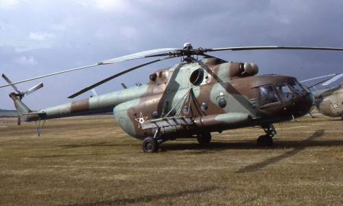 Hungarian Mi-17 Hip-H cargo helicopter in Cold War. Photo: Viroli Elio