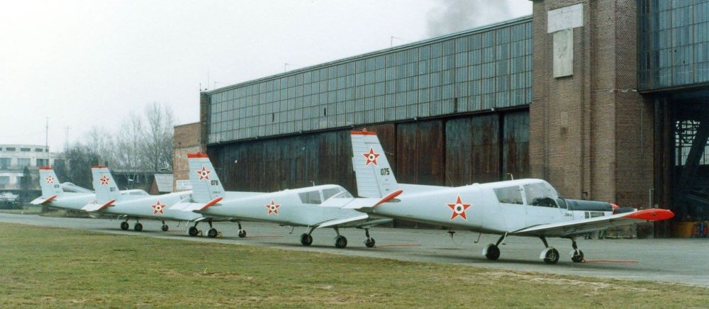 In 1976 received four the Czechoslovakia made Zlin Z-43 currier aircraft. These are deployed in Budaörs airport near capital town.