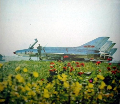 Early Chinese J-7I Fishbed