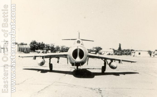 Soviet MiG-17 Fresco in the 5th Training Center in 1982