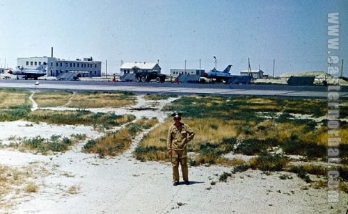 Soviet MiG-21PFM Fishbed-F fighter-bombers in Kzyl-Arvat in 1977. Photo: Sednoy Vladimir