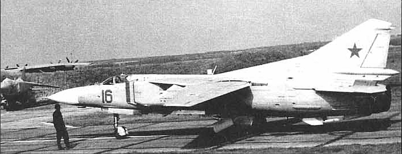 The 168th Fighter Air Regiment received very eraly MiG-23 sans suffixe 'Etalon' aircraft type in 1972.